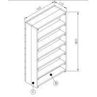 bouwtekening steigerhout tafel bouwtekening steigerhouten hoekbank bouwtekening boekenkast