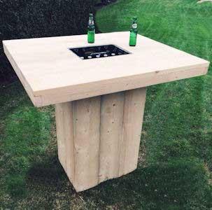 bartafel maken met een goede bouwtekening ben je zo klaar
